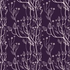 Free Floral Wallpaper Stock Image - 17459121