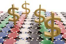 Free Poker Chips Stock Photo - 17459290