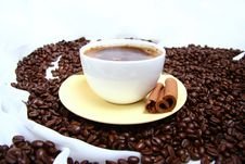 Free Cup Of Coffee Royalty Free Stock Images - 17459429