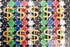 Free Gambling Chips Stock Photos - 17459453