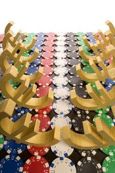 Free Poker Chips Stock Image - 17459521