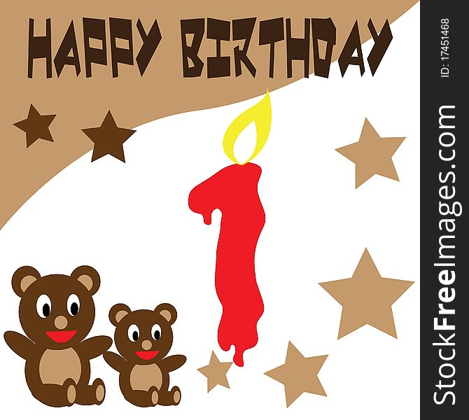 Birthday Teddy Bear Wallpaper Free Stock Images Photos