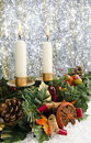 Free Christmas Candles Stock Photo - 17464890