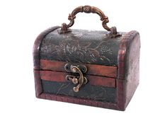 Free Treasure Chest Closed Stock Photos - 17460153