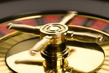 Free Golden Roulette Stock Photography - 17460372