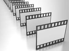 Free Film Strip Royalty Free Stock Photography - 17460457