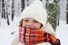 Free Winter Girl Stock Photos - 17460483