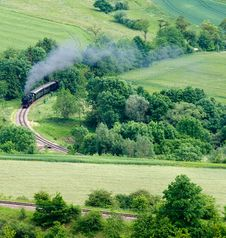 Free Steam Train Stock Images - 17460724