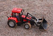 Free Tractor With Bucket Stock Photo - 17461020