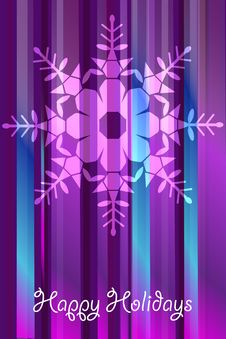 Free Christmas Vector Snowflakes Stock Photography - 17461532