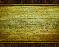 Free Old Wood Plate Or Texture Stock Photography - 17462342