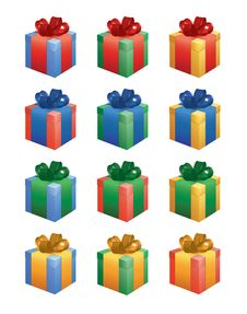 Free Presents Royalty Free Stock Photos - 17462648