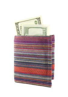 Free Colored Purse With Money Stock Image - 17462751