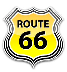 Free Route 66 Sign Stock Image - 17462831