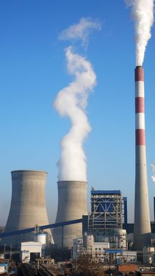 Free Heat Power Plant Stock Image - 17462901