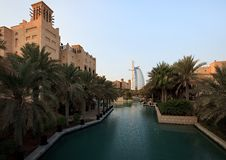Free Architectural Contrasts In Dubai. Stock Photography - 17462932