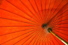 Free Red Umbrella Stock Image - 17463721