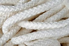 Free White Rope Royalty Free Stock Photography - 17463907