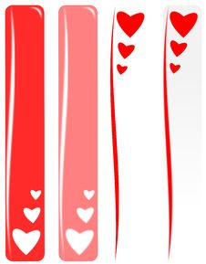 Free Valentine Banner Stock Images - 17464004