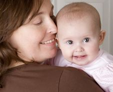 Free Mother Holding Baby Stock Image - 17464561
