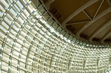 Free Steel And Glass Ceiling Royalty Free Stock Photos - 17465368