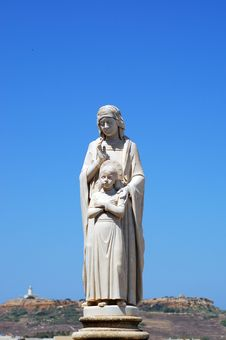 Free Religious Statue On Gozo.Malta Royalty Free Stock Photography - 17465887