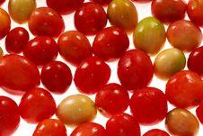 Tomatoes Texture Stock Photo