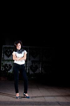 Free Thai Fashion Girl. Stock Images - 17466364