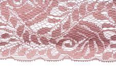 Free Pink Lace Pattern Royalty Free Stock Photo - 17466875
