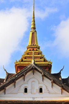 Free Temple At Laos Royalty Free Stock Image - 17468046