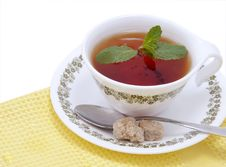 Free Tea With Mint Stock Photography - 17468062