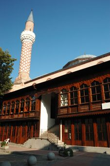 Free Djumaya Mosque Or Ulu Mosque In Plovdiv,Bulgaria Royalty Free Stock Images - 17468159