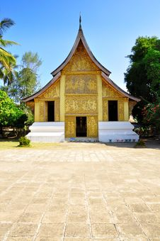 Free Temple At Laos Royalty Free Stock Image - 17468166