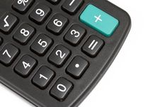 Calculator Keys Royalty Free Stock Photography