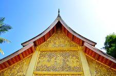 Free Temple At Laos Royalty Free Stock Photos - 17468218