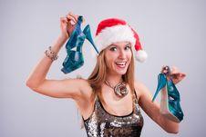 Free Christmas Girl Royalty Free Stock Photography - 17468337