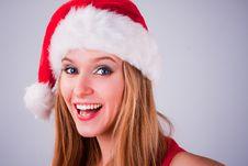 Free Christmas Girl Stock Image - 17468351