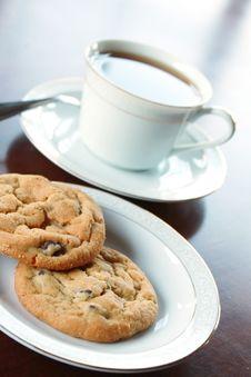 Free Tea And Cookies Stock Photo - 17468360