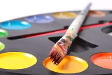 Free Brushes And Paints Stock Photography - 17468662