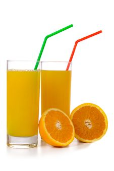 Free Orange Juice Royalty Free Stock Photo - 17468825