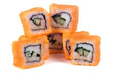 Free Traditional Japanese Rolls Stock Images - 17468944