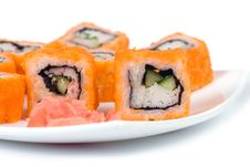 Free Traditional Japanese Rolls Stock Image - 17468951