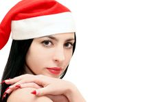 Free Christmas Woman Royalty Free Stock Photography - 17468977