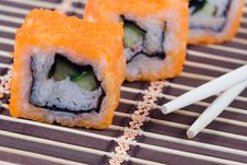 Free Traditional Japanese Rolls Stock Photography - 17469052