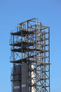 Free Tower In A Oil Refinery Royalty Free Stock Image - 17472656