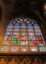 Free Stained Window At A Church In Brussels Royalty Free Stock Image - 17476886
