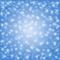Free Blue Snowflake Background Royalty Free Stock Photography - 17479287