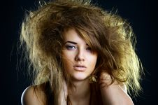 Free Portrait Of The Beautiful Girl Royalty Free Stock Photos - 17471078