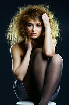 Free Portrait Of The Beautiful Girl Stock Photo - 17471090