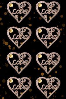 Love Heart Decoration/background